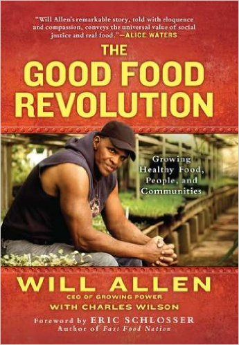Book cover: the good food revolution