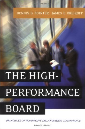 Book cover: the high performance board