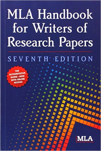 Book cover: MLA handbook for writers of research papers 7th edition
