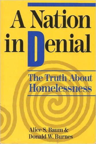 Book cover: a nation in denial: the truth about homelessness