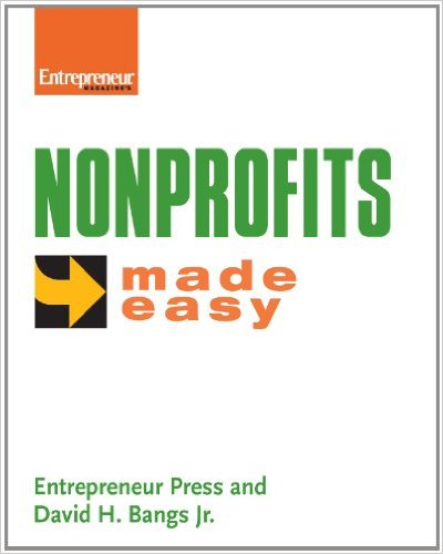 Book cover: nonprofits made easy