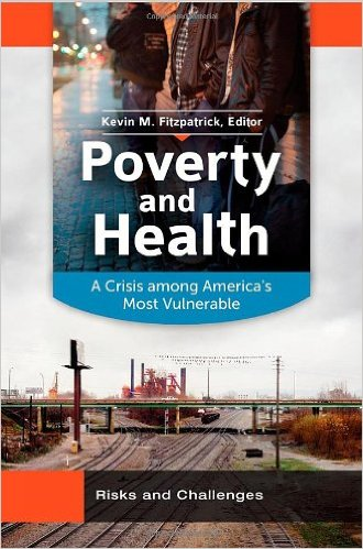 Book cover: poverty and health