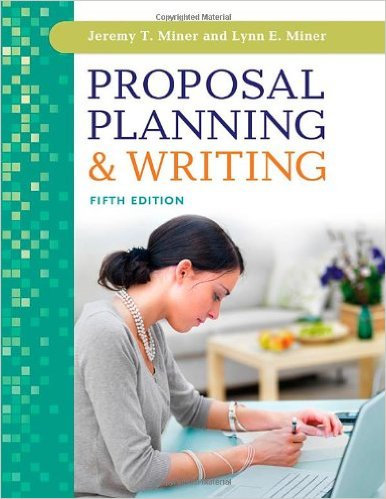 Book cover: proposal planning and writing