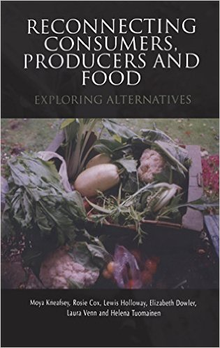Book cover: reconnecting consumers, produce and food