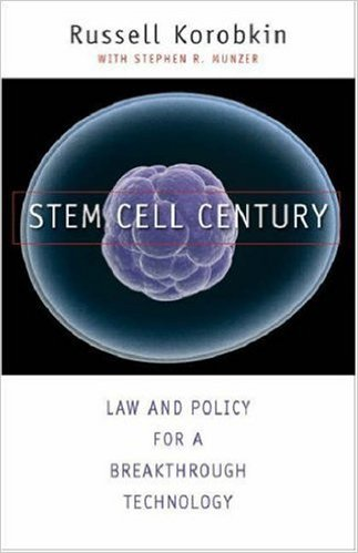 Book cover: stem cell century