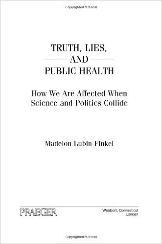 Book cover: truth, lies, and public health