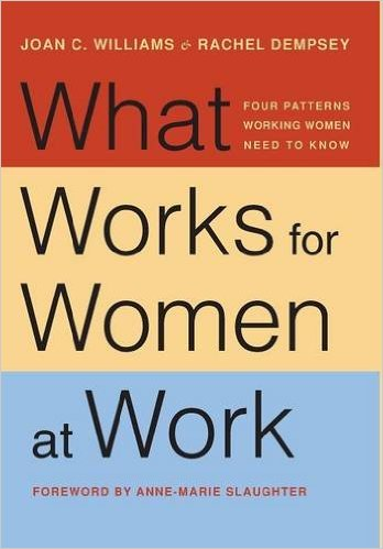 Book cover: what works for women at work