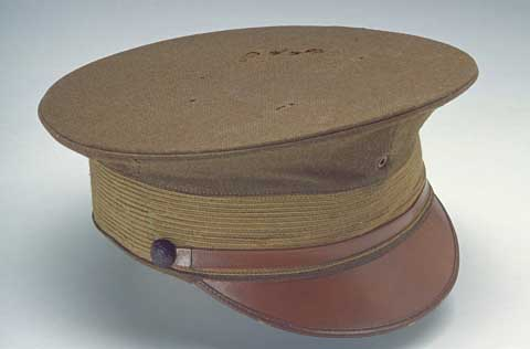 Lindbergh's ROTC Uniform cap.