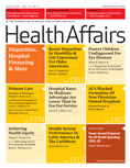 Health Affairs Cover