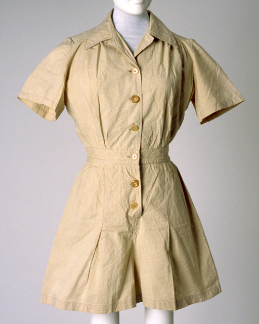 Marine Corps woman's uniform jumpsuit.