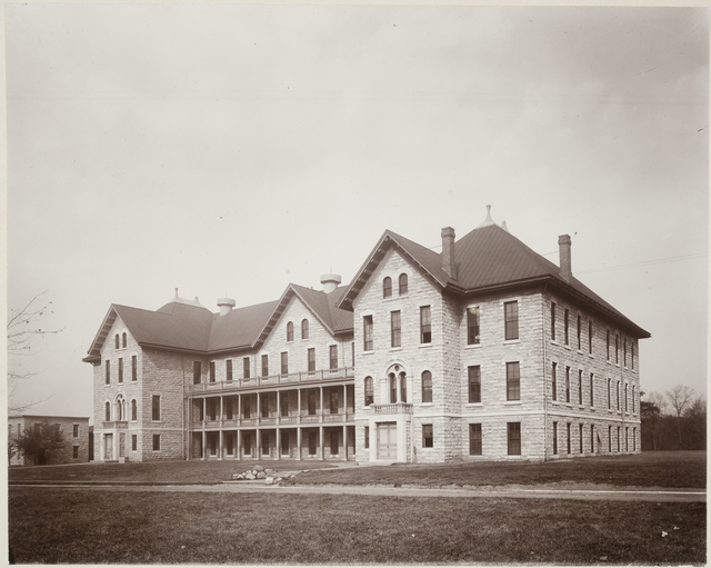 Barron Hall, School for the Deaf, Faribault, ca. 1905.