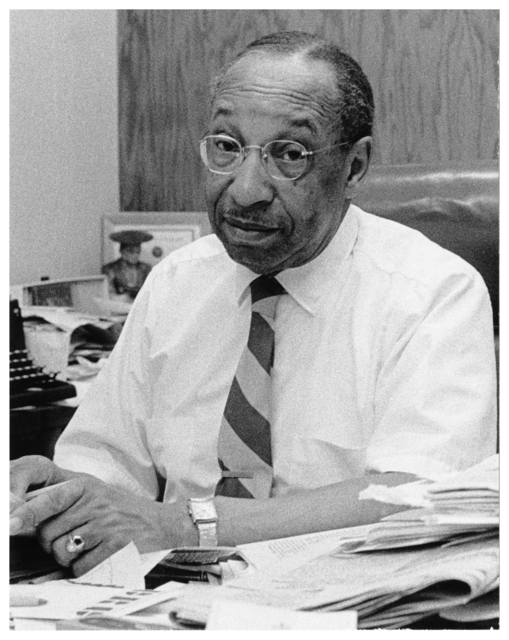 Cecil Newman. Founder, editor and publisher of the & Minneapolis Spokesman and the & St. Paul Recorder. President of the Minneapolis Urban League and first Black President of the Minnesota Press Club, ca. 1965.