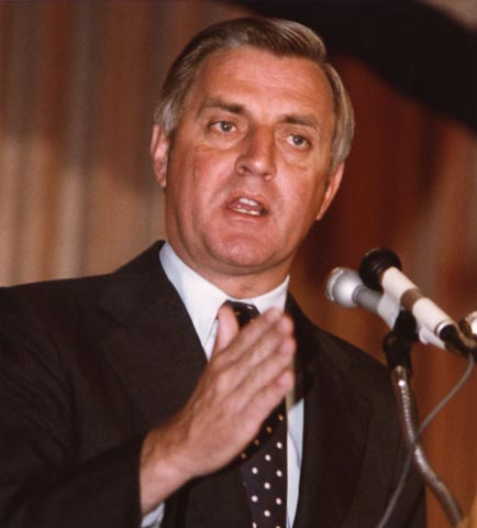 Vice President Walter Mondale, 1978.