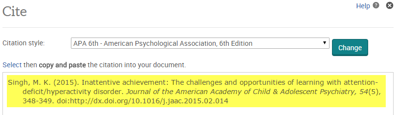 citing sources apa 6th psychology search research guides at