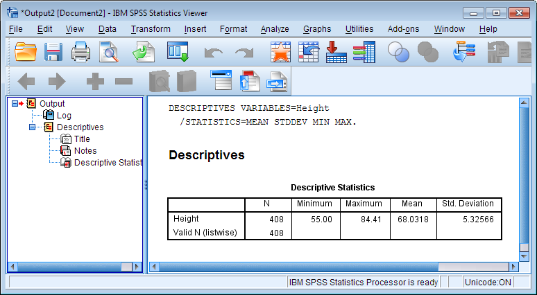 Spss syntax tutorial