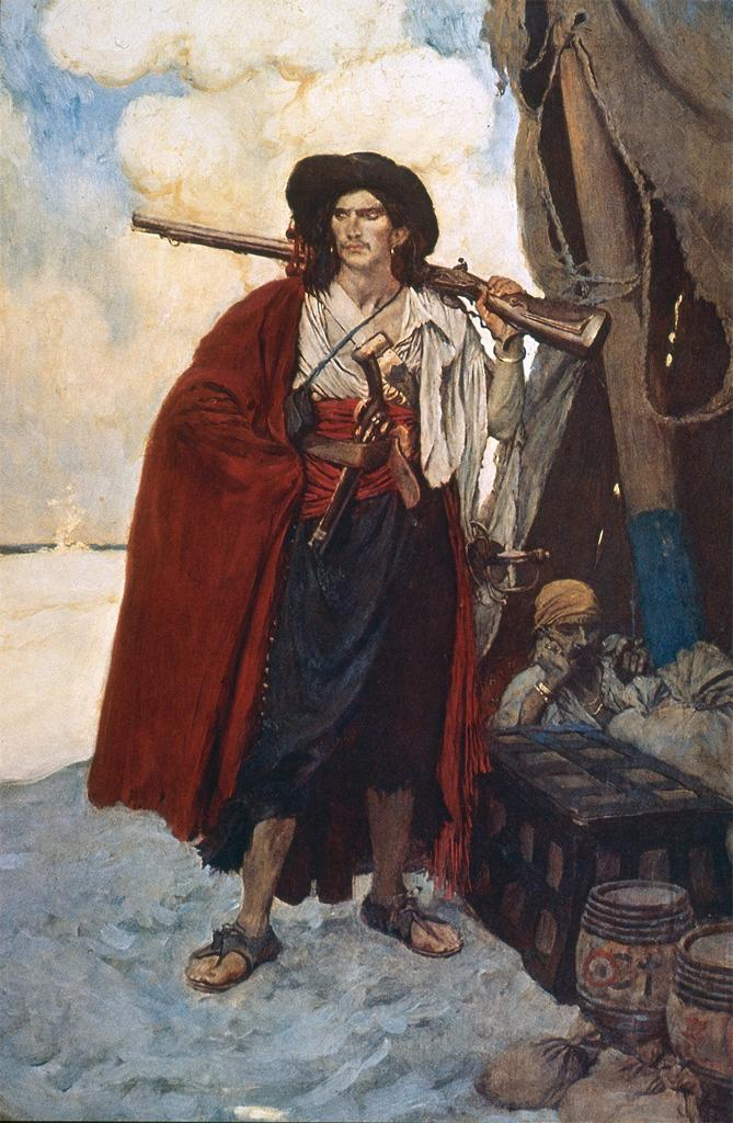 painting of pirate