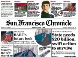 San Francisco Chronicle cover