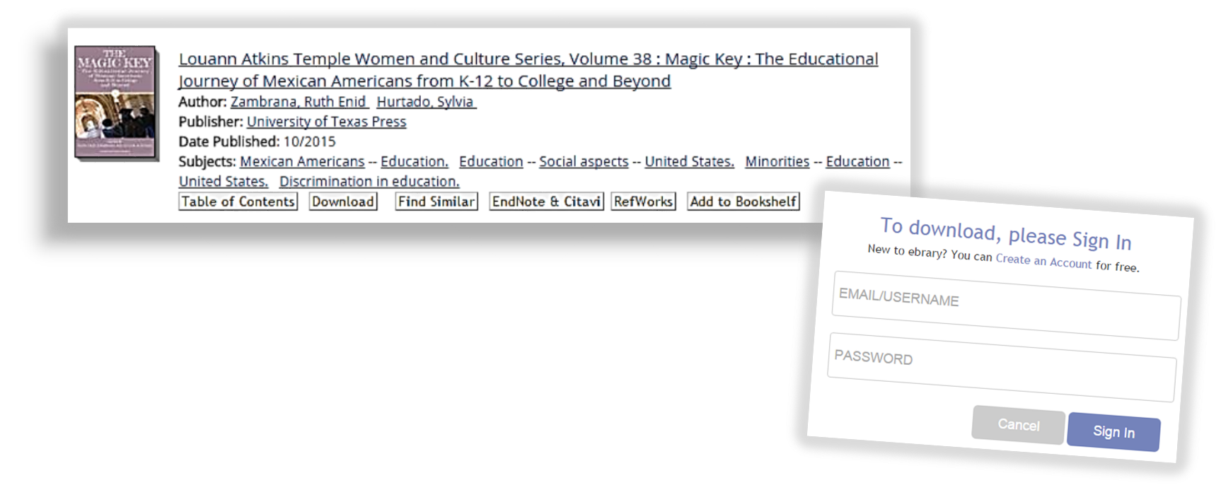 eBrary ebook citation