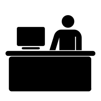 Information desk icon