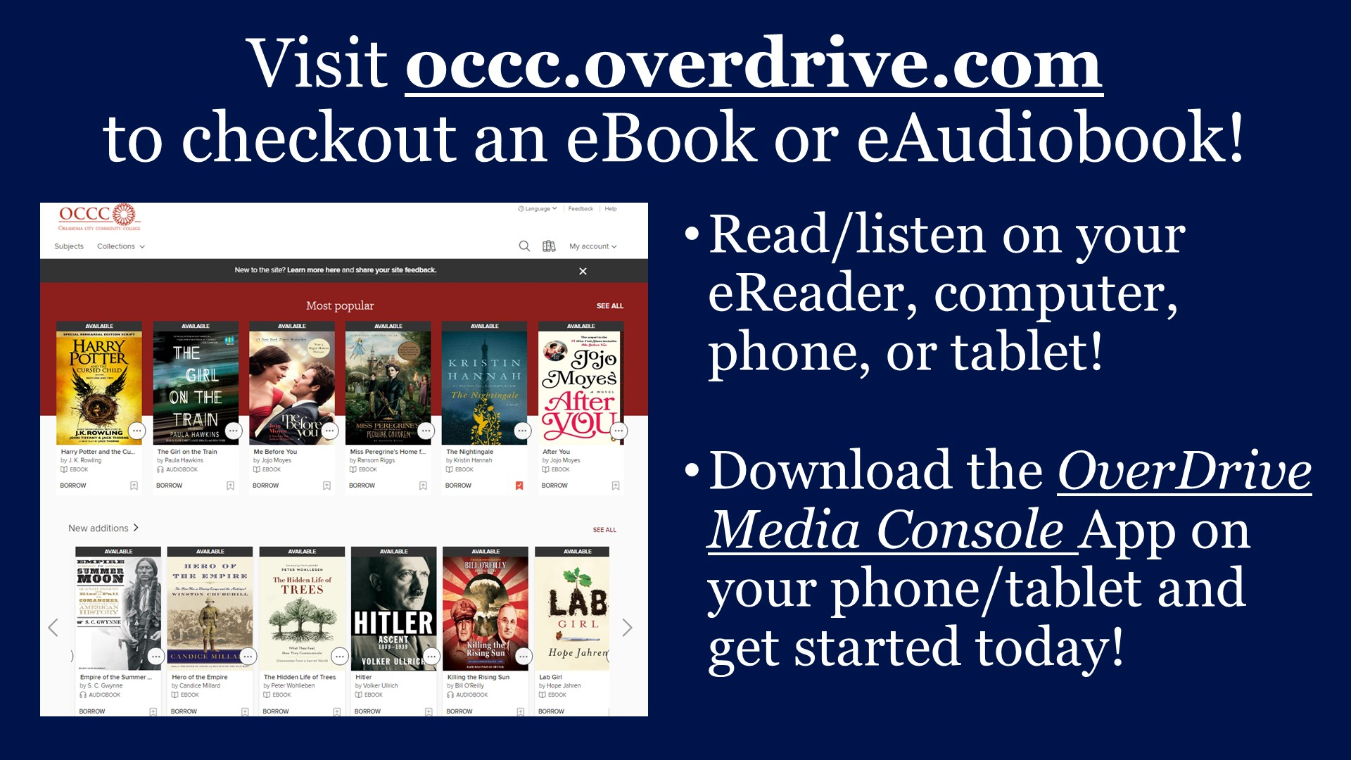 Promo for OverDrive