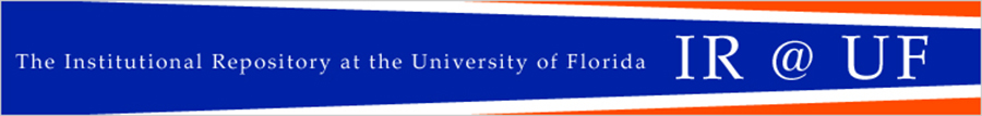 The Institutional Repository af the University of Florida IR@UF