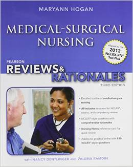 Pearson reviews & rationales: Medical surgical