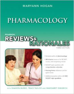 Pearson reviews & rationales: Pharmacology