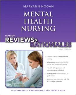 Pearson reviews & rationales: Mental health