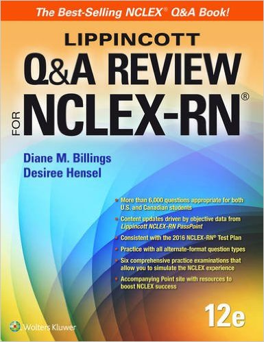 Lippincott Q&A review for the NCLEX-RN