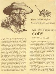 Buffalo Bill Biographical
