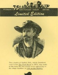 Sketch of Buffalo Bill, The Poet Scout, 1879