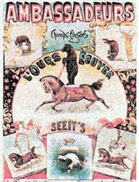 Nineteenth Century French Circus Poster