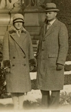 Milislav Demerec and Mary, his wife, in Vienna, Winter 1926-1927