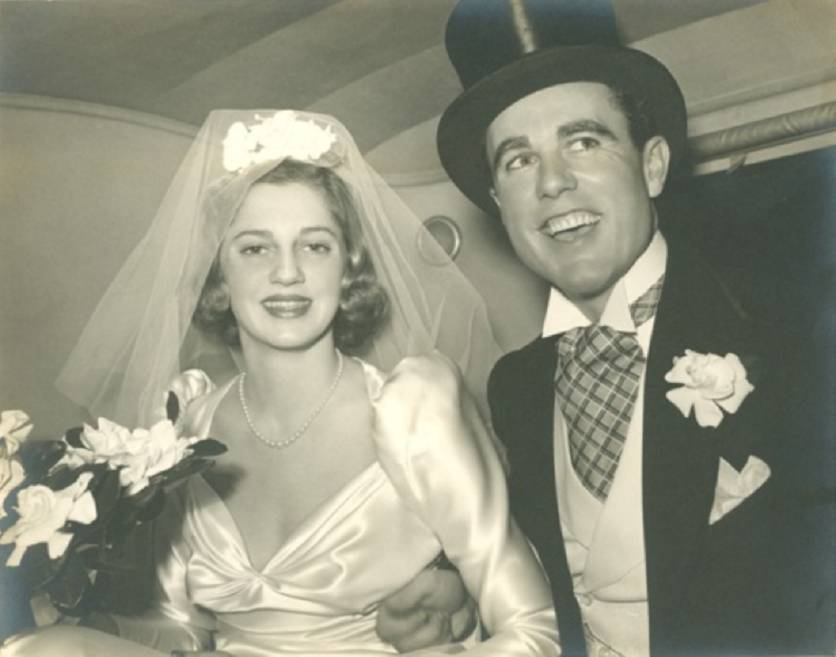 William Edward Hutton and Joan King Chapin were married October 15, 1938, in Grosse Pointe, Michigan