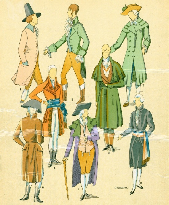 The History of French Masculine Costume