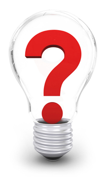 image of a light bulb question mark