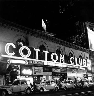 Cotton Club sign