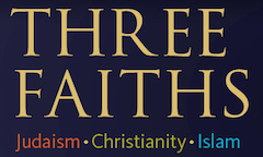 Three Faiths exhibition label