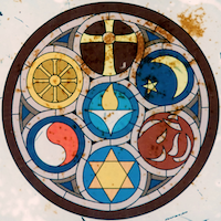 Symbols of major world religions