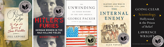 Non fiction book prizes and awards