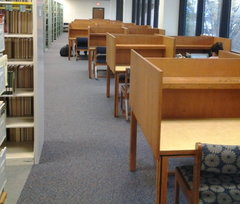 Upstairs Study Carrels