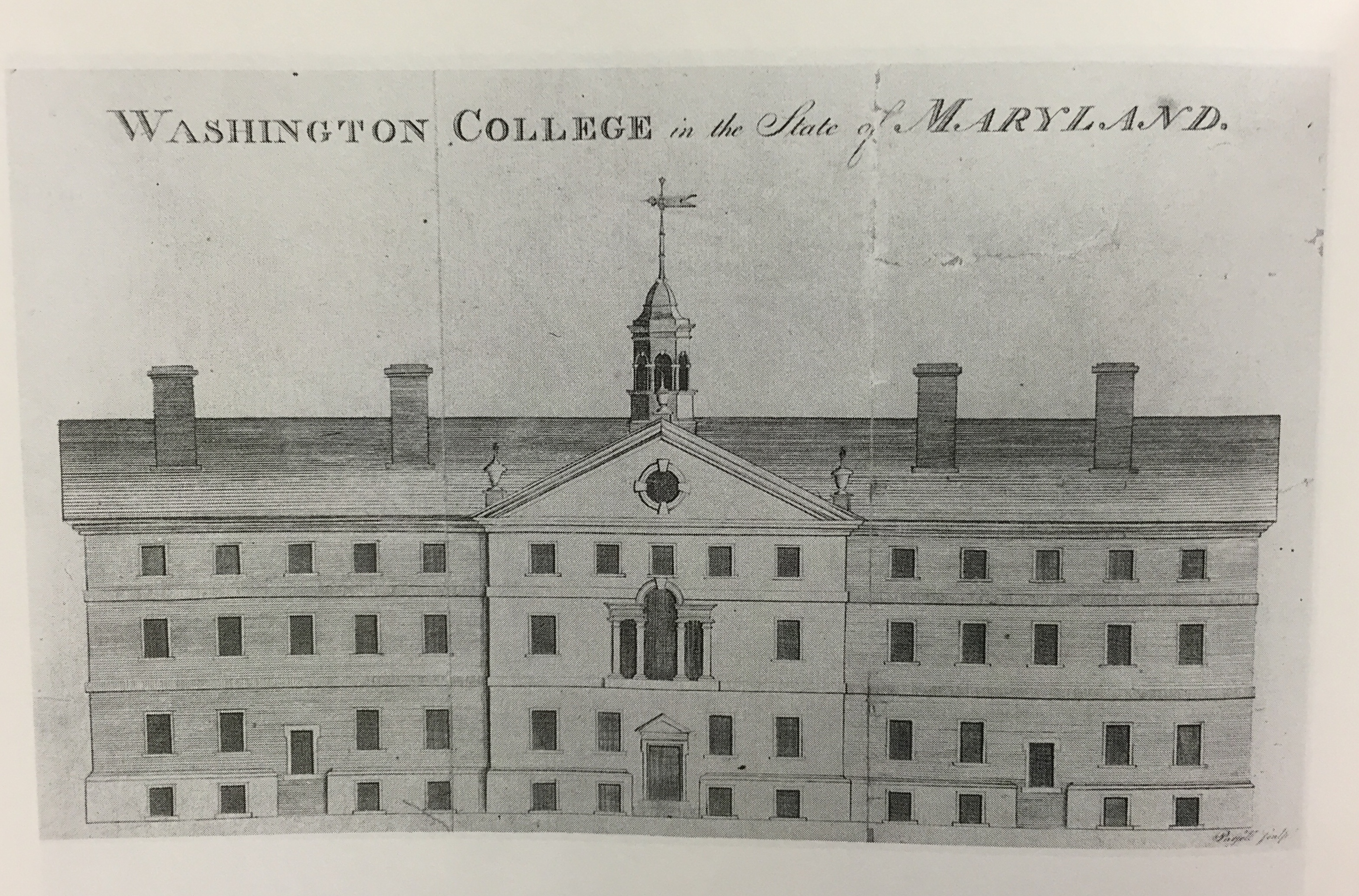 Original College Building 1782