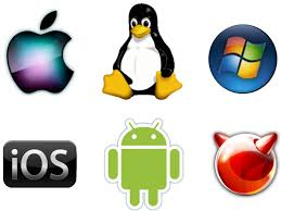logos of different operating systems