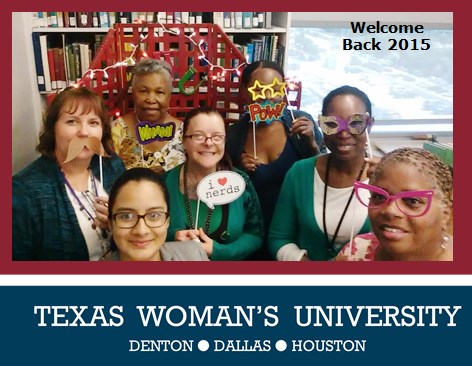 Dallas Library Welcome Back 2015
