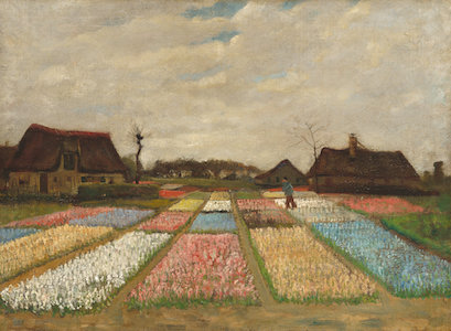 Van Gough, Flower Beds in Holland