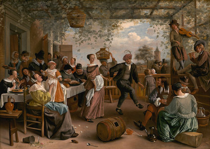 Jan Steen, The Dancing Couple