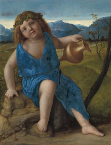 Giovanni Bellini, The Infant Bacchus
