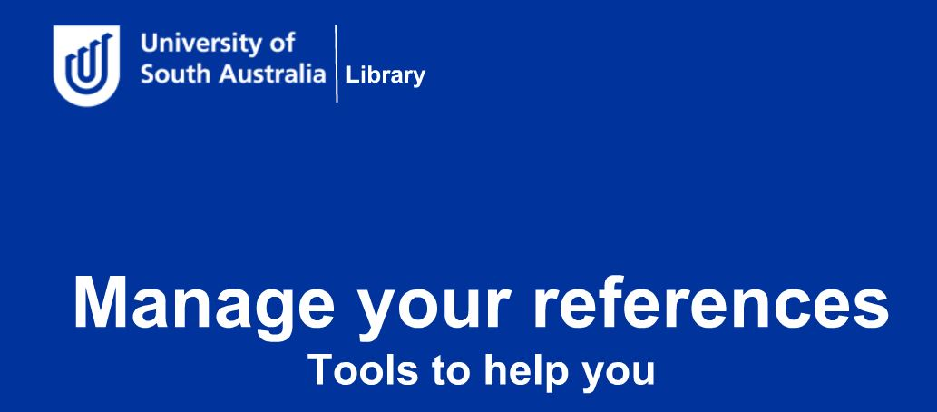 Manage your references video