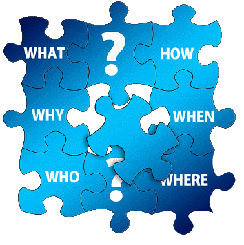 CC0 public Domain [https://pixabay.com/en/questions-puzzle-who-what-how-why-1328347/]