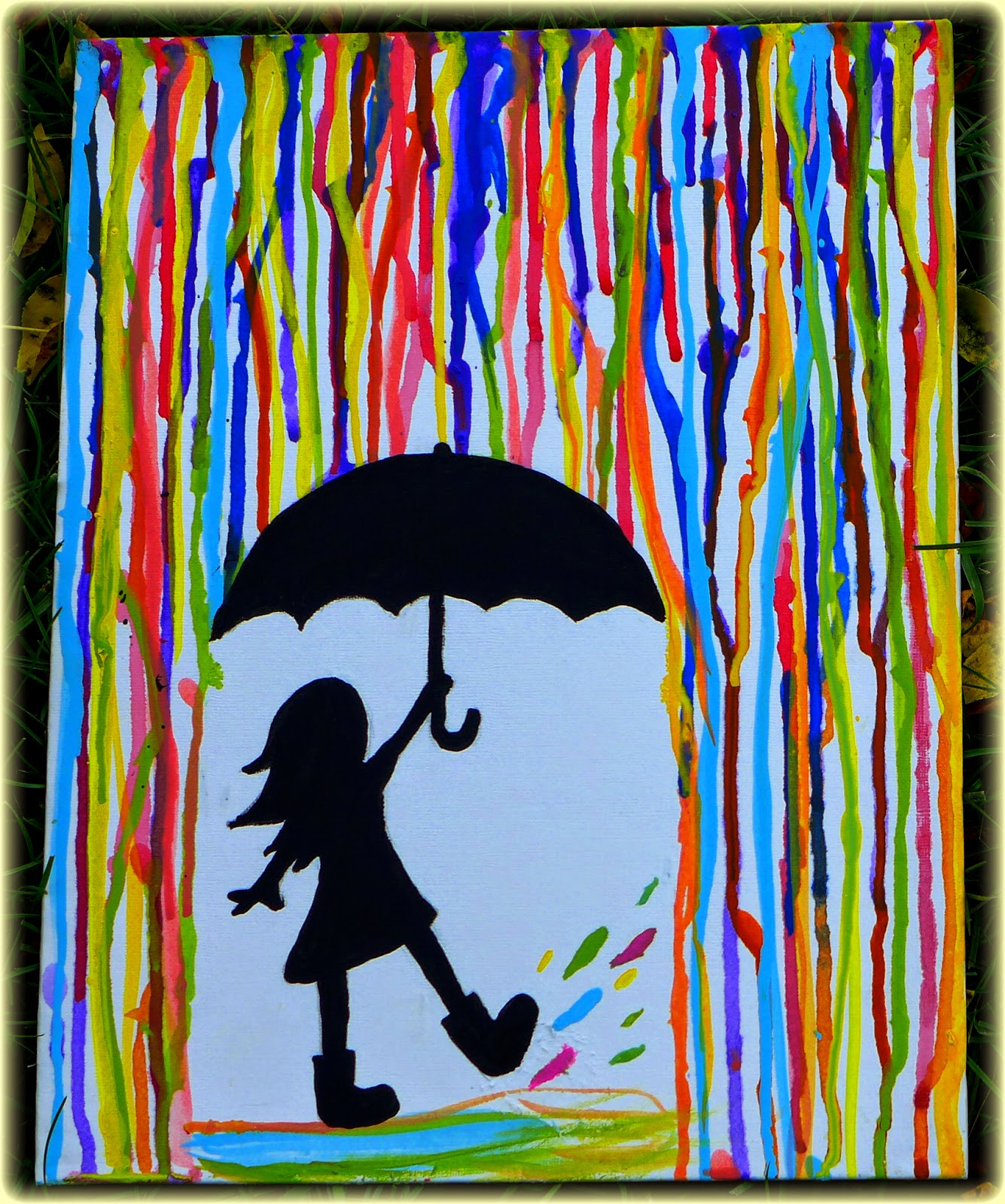 It S Raining Color Painting Class Bb Libcal Rolling Hills